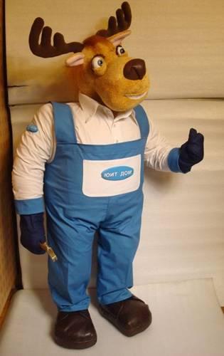 Корпоративная игрушка Лось Большие игрушки Игрушки на заказ по фото, рисункам. Шьем от 1 шт.