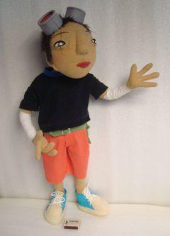 Куро из мультфильма Tekkon Kinkreet Куклы Игрушки на заказ по фото, рисункам. Шьем от 1 шт.