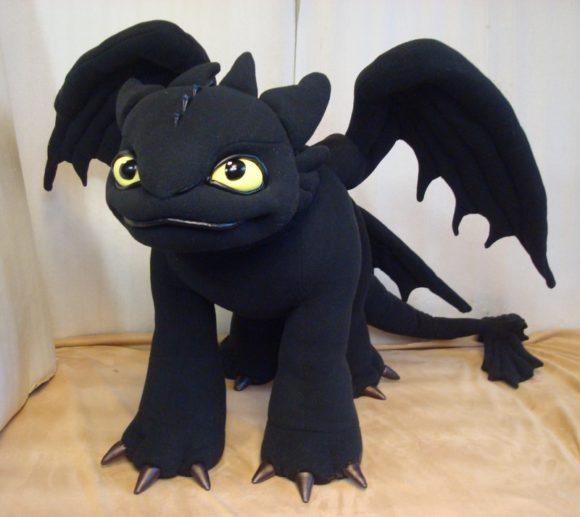 Беззубик (Как приручить дракона) Мультфильмы Игрушки на заказ по фото, рисункам. Шьем от 1 шт.