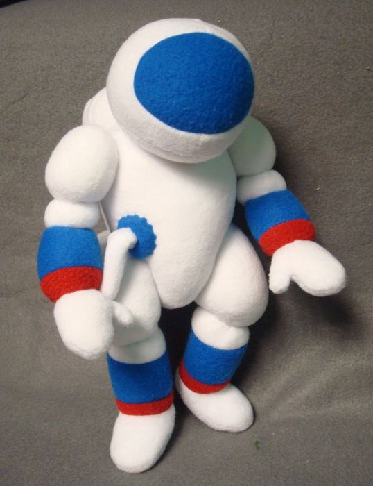 """Космонавт для передачи """"Пора в космос"""" Игрушки по рисункам Игрушки на заказ по фото, рисункам. Шьем от 1 шт."""