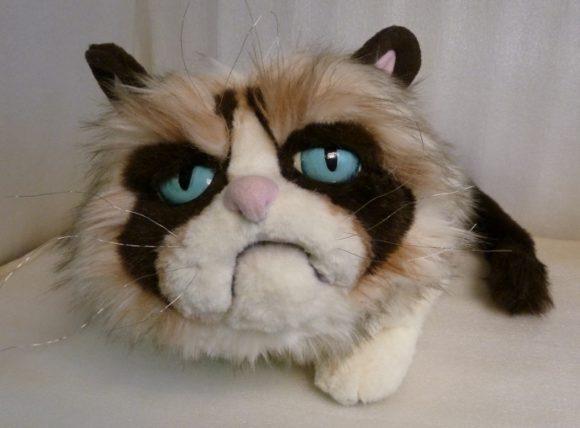 Grumpy cat (сердитый котик) Игрушки по рисункам Игрушки на заказ по фото, рисункам. Шьем от 1 шт.
