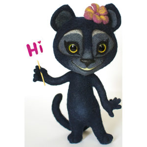 Пантера Viber - мягкая игрушка Игрушки по рисункам Игрушки на заказ по фото, рисункам. Шьем от 1 шт.