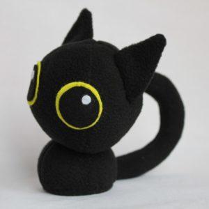Котенок с большими глазками Игрушки по рисункам Игрушки на заказ по фото, рисункам. Шьем от 1 шт.