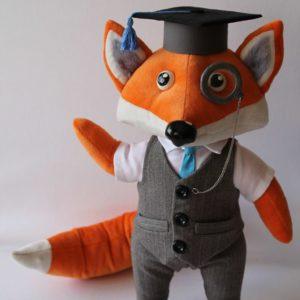 Лис талисман корпоративная игрушка Игрушки по рисункам Игрушки на заказ по фото, рисункам. Шьем от 1 шт.
