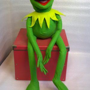 Лягушонок Кермит Игрушки по рисункам Игрушки на заказ по фото, рисункам. Шьем от 1 шт.