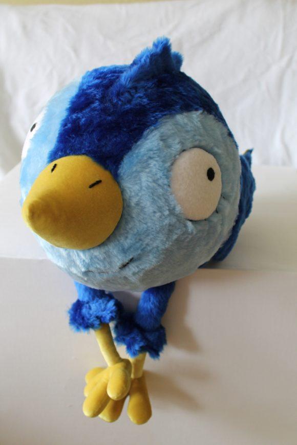 Синяя птица счастья - разработка авторской игрушки Игрушки по рисункам Игрушки на заказ по фото, рисункам. Шьем от 1 шт.