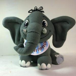 Элефантенок - веселая игрушка Игрушки по рисункам Игрушки на заказ по фото, рисункам. Шьем от 1 шт.