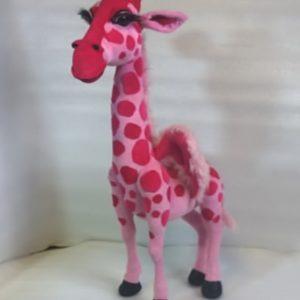 Розовая жирафа Игрушки по рисункам Игрушки на заказ по фото, рисункам. Шьем от 1 шт.