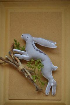 Новогодние зайцы Игрушки по рисункам Игрушки на заказ по фото, рисункам. Шьем от 1 шт.