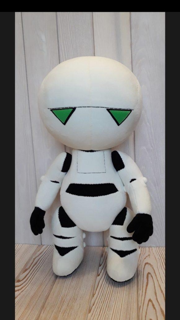 Марвин робот-параноик игрушка Игрушки по рисункам Игрушки на заказ по фото, рисункам. Шьем от 1 шт.