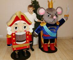 Щелкунчик и Мышиный Король ростовые куклы Большие игрушки Игрушки на заказ по фото, рисункам. Шьем от 1 шт.