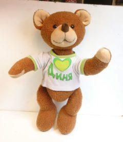 Медведь подарок по фото Игрушки по рисункам Игрушки на заказ по фото, рисункам. Шьем от 1 шт.